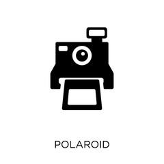 Polaroid icon. Polaroid symbol design from Birthday and Party collection.