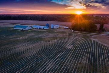 Aerial View of Plainsboro