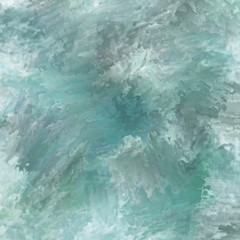 Water background in turquoise, white and black representing the vast ocean