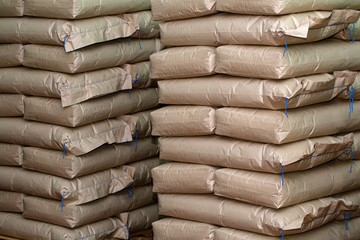 Brown sacks  store