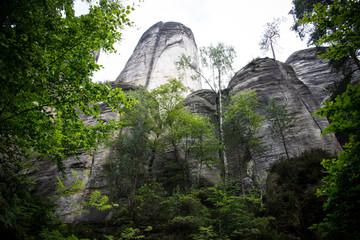 skały w Aspardach skalne miasto