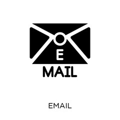 Email icon. Email symbol design from Communication collection.