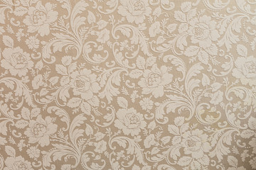 vintage wallpaper with flowers Wall mural