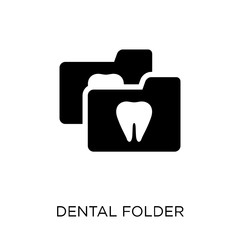 Dental Folder icon. Dental Folder symbol design from Dentist collection.