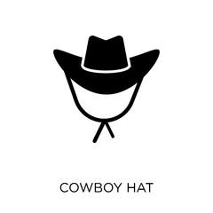 Cowboy Hat icon. Cowboy Hat symbol design from Desert collection.