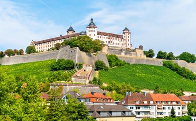 The Marienberg Fortress in Wurzburg, Germany Fototapete