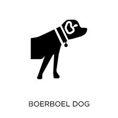 Boerboel dog icon. Boerboel dog symbol design from Dogs collection.