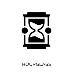 Hourglass icon. Hourglass symbol design from Time managemnet collection. Simple element vector illustration. Can be used in web and mobile.