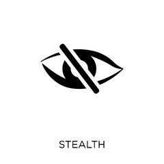 stealth icon. stealth symbol design from Army collection. Simple element vector illustration. Can be used in web and mobile.