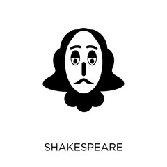 Shakespeare icon. Shakespeare symbol design from Cinema collection.