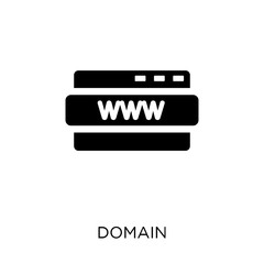 domain icon. domain symbol design from Networking collection.