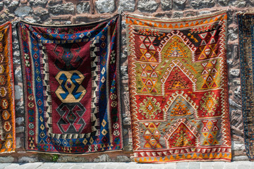 Hand made carpet and rugs of  traditional types