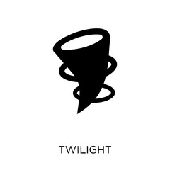 twilight icon. twilight symbol design from Weather collection.