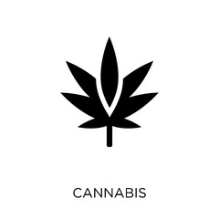 Cannabis icon. Cannabis symbol design from Nature collection.