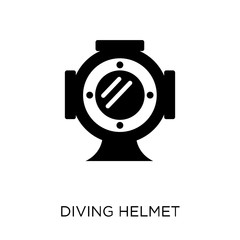 Diving Helmet icon. Diving Helmet symbol design from Nautical collection.