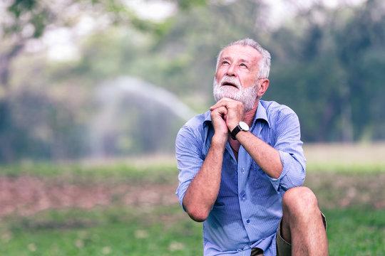 Health elderly concept
