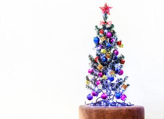 Christmas Decoration, White Background