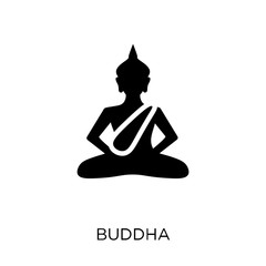 Buddha icon. Buddha symbol design from Religion collection.