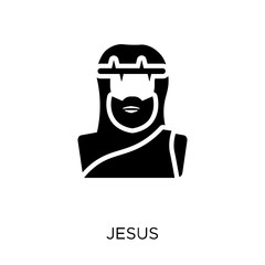 Jesus icon. Jesus symbol design from Religion collection.