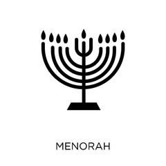 Menorah icon. Menorah symbol design from Religion collection.