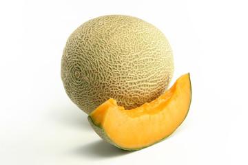 Melon and slice