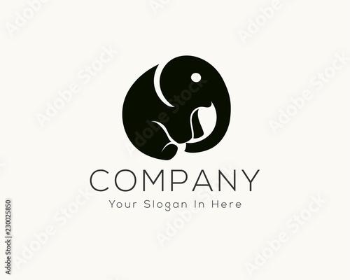 f299ada53107 Simple elephant logo