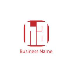 Initial Letter HA Logo Template Design