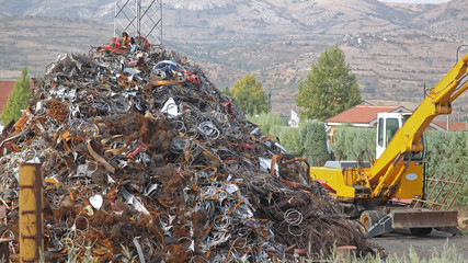 Scrap Metal Scrapyard Recycling