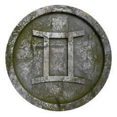 Horoscope sign Gemini Illustration
