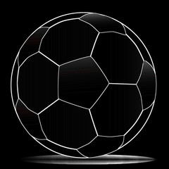 White Line Football