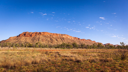 MacDonnell Ranges near Alice Springs, Northern Territory, Australia