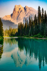 Canada rockies, Yoho national park, Emerald lake