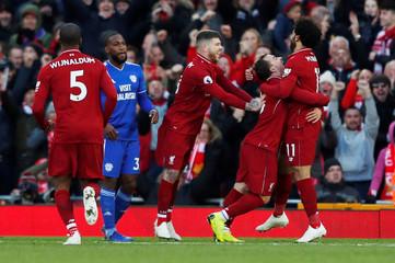 Premier League - Liverpool v Cardiff City