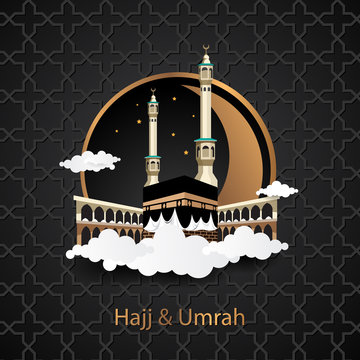 kaaba with luxury design for hajj umrah and more
