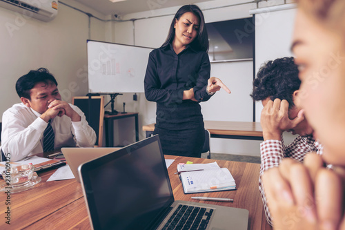 Business People Are Brainstorming To Plan Their Business