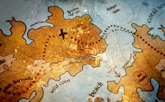 treasure island map