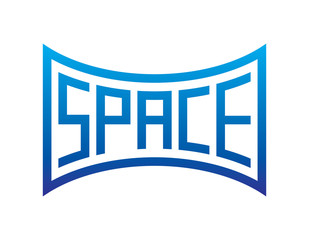 space word special form, space word different form concept illustration vector
