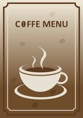 Coffee Menu Card
