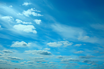 clouds blue sky / background clean blue sky with white clouds concept purity and freshness of nature