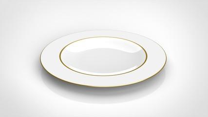皿 ゴールド