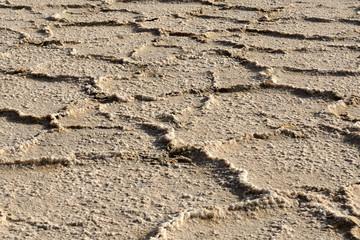 Salt desert, Iran