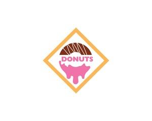 Donuts logo vector