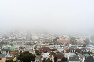 San Francisco fog patterns