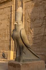 The temple of Horus in Edfu