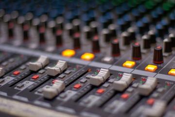 sound system mixer
