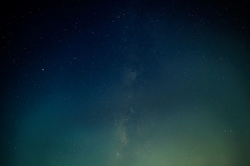 The abstract of the vertical Milky Way
