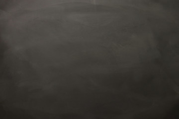 Empty blackboard background top view.