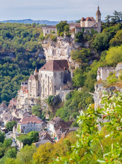 Village de Rocamadour, Lot, Occitanie, France