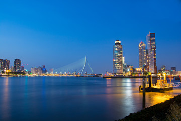 Erasmus Brug, Rotterdam, Nederland