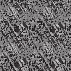 Abstract art grunge seamless pattern